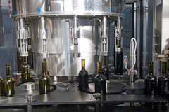Bottling line Stock Photography