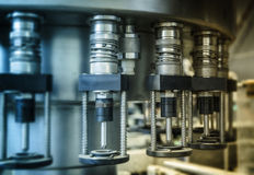 Bottling line Stock Images