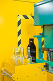 Bottling machine Stock Image