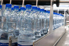 Bottling plant Royalty Free Stock Image