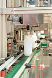 Bottling plant. A photo of a Bottling plant Royalty Free Stock Photo