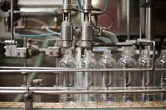 Bottling Plant Stock Images