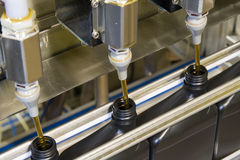 Bottling process 1 Royalty Free Stock Images