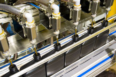 Bottling process 2 Stock Photography