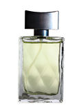 A bottlle of perfume. Isolated on the white Stock Images