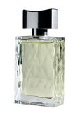 A bottlle of perfume. Isolated on the white Royalty Free Stock Photos