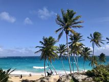 Bottom Bay in Barbados, Caribbean royalty free stock images