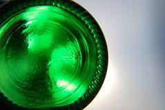 Bottom of bottle Royalty Free Stock Images