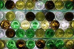 Bottom bottles, museum of Ehrenbreitstein Fortress. Exhibition in museum of Ehrenbreitstein Fortress, Koblenz, Germany Royalty Free Stock Photo
