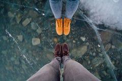 Bottom, Cold, Feet Stock Image