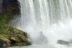 Bottom corner of niagara falls Royalty Free Stock Photos