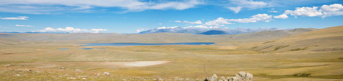 The bottom of dried-salty lake i Royalty Free Stock Photography