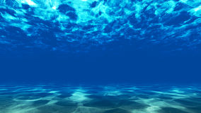 The bottom of the ocean. 2 Royalty Free Stock Photography