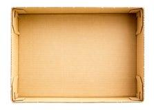 Bottom Of Box Stock Photography