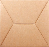 Bottom of packaging box Royalty Free Stock Image
