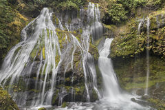 Bottom of Panther Creek Falls Royalty Free Stock Photo