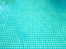 Bottom of the pool Royalty Free Stock Photo
