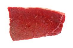 Bottom Round Swiss Steak Overhead View Stock Photo