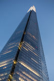 Bottom of The Shard Looking Up Stock Photography