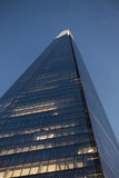 Bottom of The Shard Looking Up Royalty Free Stock Photo