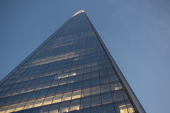 Bottom of The Shard Looking Up Stock Images