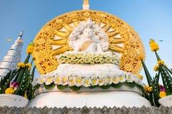 Bottom side asian buddha statue Stock Photos