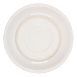 Bottom side of plate Stock Photo