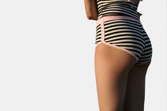 Bottom and stripes. Royalty Free Stock Image
