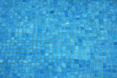 Bottom of a swimming pool Stock Photography
