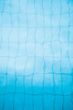 Bottom of swimming pool background Royalty Free Stock Photos