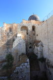 Bottom View of the Al-Aqsa Mosque Dome Stock Photography