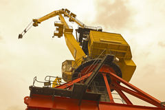 Bottom view of classical Cranes Royalty Free Stock Photos