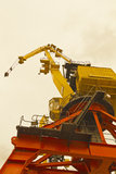 Bottom view of classical Cranes Royalty Free Stock Images