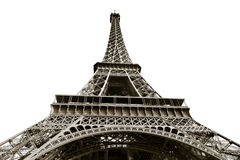 View of Eiffel tower in Paris Stock Photography