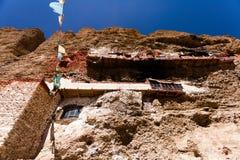 Bottom view of Gu Pu'er Temple Royalty Free Stock Photo