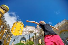Pena Palace enjoys Stock Images