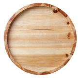 Bottom of wooden bucket Royalty Free Stock Image