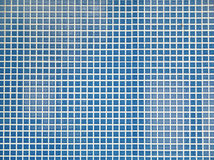 Bottomed pool mosaic creating Royalty Free Stock Photography