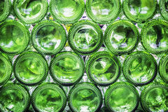 Bottoms of bottles royalty free stock photo
