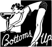 Bottoms Up Royalty Free Stock Images