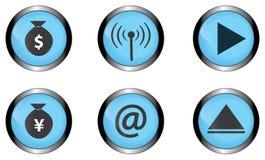Bottone  illustrazione vettoriale