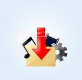 Bottone Fotografia Stock