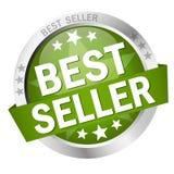 Bottone con il best-seller dell'insegna Fotografia Stock Libera da Diritti