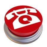 Bottone con il segno del telefono Illustrazione di Stock