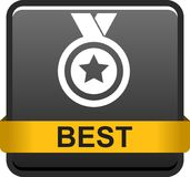 Bottone del best-seller Fotografia Stock