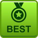 Bottone del best-seller Immagine Stock