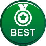 Bottone del best-seller Immagini Stock