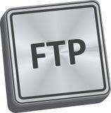 Bottone del ftp illustrazione di stock