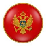 Bottone del Montenegro Immagini Stock Libere da Diritti