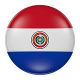 Bottone del Paraguay Immagini Stock